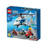 LEGO City Prenasledovanie policajnou helikoptérou (60243)