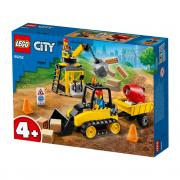 LEGO City  Buldozér na stavbe (60252)