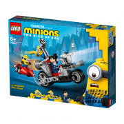 LEGO Minions Divoká naháňačka na motorke (75549)