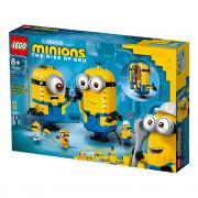 LEGO Minions Mimoni a ich brloh (75551)