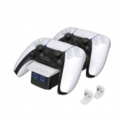 VENOM VS5001 PS5 biela nabíjačka (na 2 ovládače)