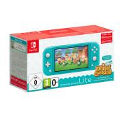 Nintendo Switch Lite & Animal Crossing: New Horizons Edition (Tyrkysová)