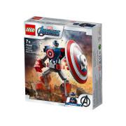 LEGO Super Heroes Captain America v obrnenom robotovi (76168)
