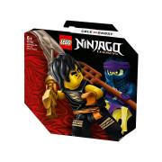 LEGO Ninjago Epický súboj – Cole vs. prízračný bojovník (71733)