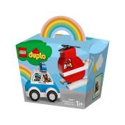 LEGO Hasičský vrtuľník a policajné auto (10957)