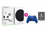 Xbox Series S 512GB + 3 mesačné Game Pass Ultimate členstvo + ovládač (modrý)