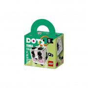 LEGO DOTS Ozdoba na tašku – panda (41930)