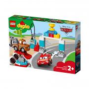 LEGO DUPLO Bleskový McQueen a deň pretekov (10924)