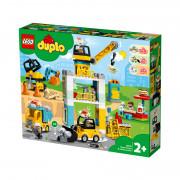 LEGO DUPLO Stavba s vežovým žeriavom (10933)