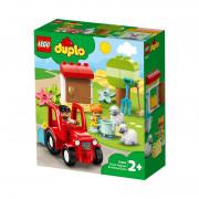 LEGO DUPLO Traktor a zvieratká z farmy (10950)