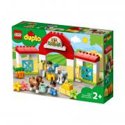 LEGO DUPLO Stajňa s poníkmi (10951)