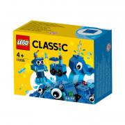 LEGO Classic Modré kreatívne kocky (11006)