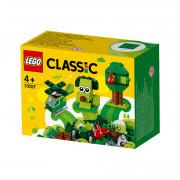 LEGO Classic Zelené kreatívne kocky (11007)