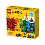 LEGO Classic Kocky a kolesá (11014)