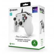 Nacon Pro Compact ovládač (biely)