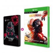 SEAGATE Xbox 2TB HDD Jedi skin + hra Star Wars Squadrons