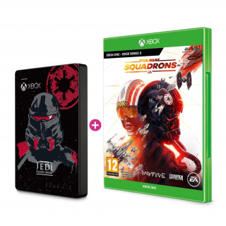SEAGATE Xbox 2TB HDD Jedi skin + hra Star Wars Squadrons Xbox Series