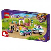 LEGO Friends Auto s prívesom a výcvik koníka (41441)