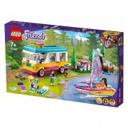 LEGO Friends Kempovanie v lese (41681)