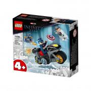 LEGO Super Heroes Captain America vs. Hydra (76189)