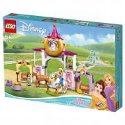 LEGO Disney Kráľovské stajne Krásky a Rapunzel (43195)