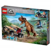LEGO Jurassic World Dinosauria naháňačka s carnotaurom (76941)