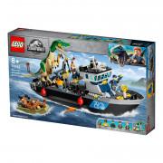 LEGO Jurassic World Útek baryonyxa z lode (76942)