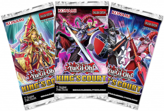 Yu-Gi-Oh! Kings Court Booster Pack (1ks) Darčeky