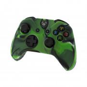 Xbox One silikónové púzdro na ovládač (Camo Green) Xbox One