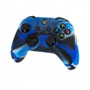 Xbox One silikónové púzdro(Camo Blue) Xbox One