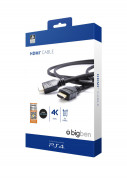 PlayStation 4 4K UHD HDMI Kábel (Bigben) PS4