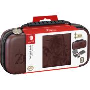Nintendo Switch Zelda vzorné puzdro (barna) Switch