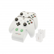 Venom VS2859 Xbox One biela nabíjačka + 2 batérie Xbox One