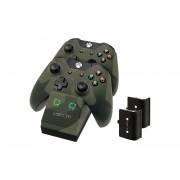 Venom VS2857 Xbox One camouflage toltoallomas + 2db akkumulator