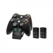 Venom VS2891 Xbox 360 black double nabíjačka + 2ks batérie Xbox 360