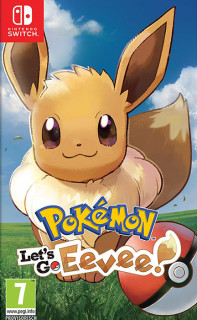 Pokémon Let's Go Eevee Switch