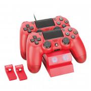 Venom VS2739 nabíjačka na 2 ovládače (červená) PS4