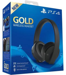 Sony Gold Wireless Headset (7.1) bezdrôtové slúchadlo Multiplatforma