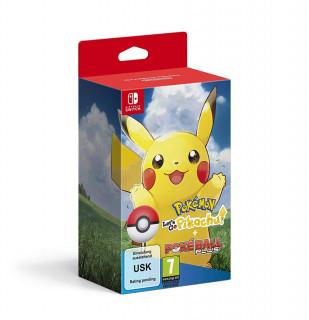 Pokémon Let's Go Pikachu! + Poké Ball Plus Switch