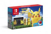 Nintendo Switch + Pokémon Let's Go Pikachu! Switch
