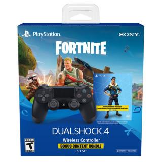 Playstation 4 (PS4) Dualshock 4 ovládač (čierny) + ako bonus Fortnite PS4
