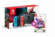 Nintendo Switch (Red-Blue) + Just Dance 2019 Switch