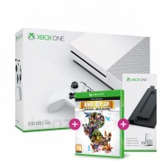 Xbox One S (Slim) 500 GB (white) + Vertical Stand + Rare Replay Xbox One