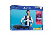 PlayStation 4 (PS4) Slim 1TB + FIFA 19 + druhý DualShock 4 ovládač PS4