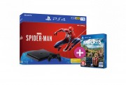 PlayStation 4 (PS4) Slim 1TB + Spider-Man + Far Cry 5 PS4