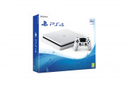 PlayStation 4 (PS4) Slim 500GB Glacier White (white) PS4