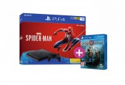 PlayStation 4 (PS4) Slim 1TB + Spider-Man + God of War PS4