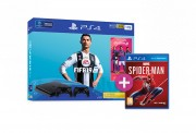 PlayStation 4 (PS4) Slim 1TB + FIFA 19 + druhý DualShock 4 ovládač + Spider-Man PS4