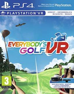 Everybody's Golf VR PS4