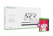 Xbox One S 1TB + dva ovládače + FIFA 20